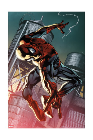 The Amazing Spider-Man 700.4 Cover Art of Spider-Man