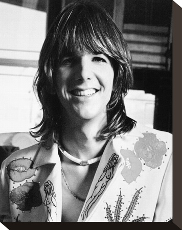 Gram Parsons Stretched Canvas Print
