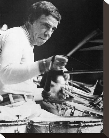 Buddy Rich Stretched Canvas Print