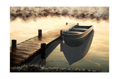 Quiet Morning Premium Giclee Print by Bruce Nawrocke