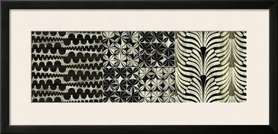 Deco Rhapsody Framed Giclee Print by Mali Nave