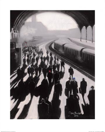 Victoria Station, London - 1934 Kunst af Jon Barker