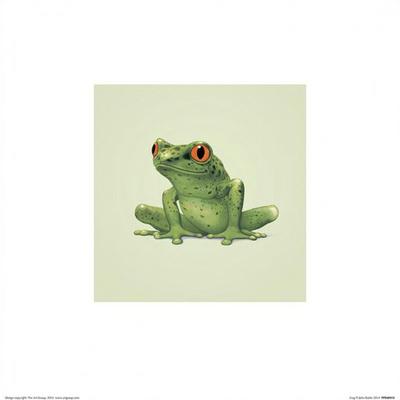 Frog Prints by John Butler Art