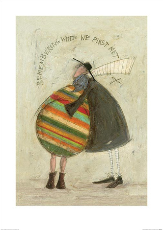 Remembering When We First Met Kunst von Sam Toft
