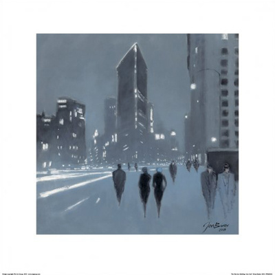 The Flatiron Building, New York Posters af Jon Barker