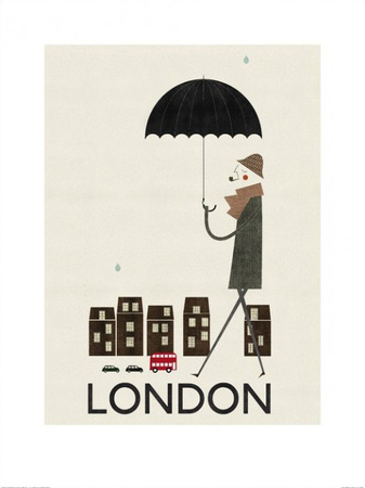London Poster by Blanca Gomez