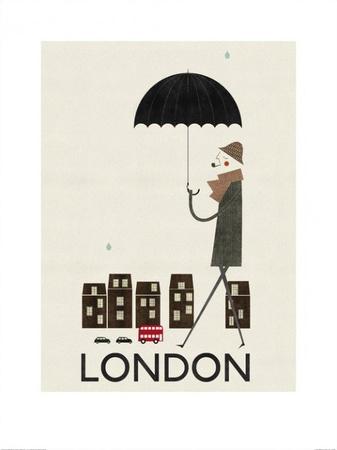 London Affischer av Blanca Gomez