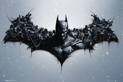 Batman Origins - Arkham Bats Posters
