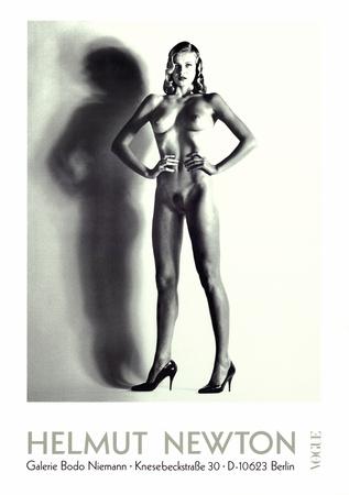 Big Nude Prints by Helmut Newton