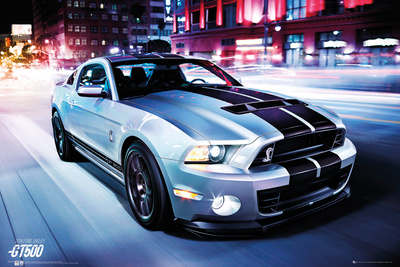 Ford Shelby GT500 - 2014 Póster