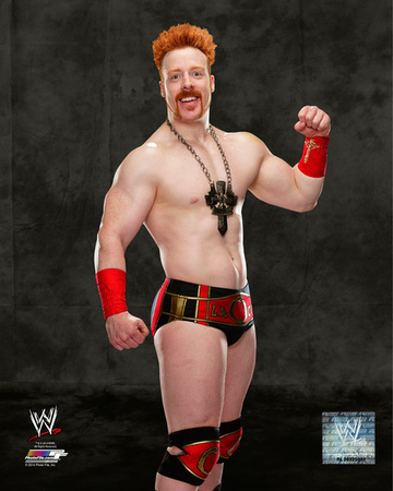 World Wrestling Entertainment - Sheamus 2014 Posed Photo