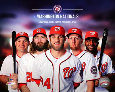 Washington Nationals 2014 Team Composite Photo