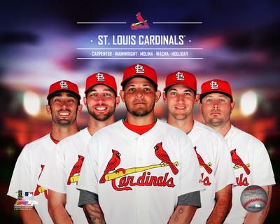 St. Louis Cardinals 2014 Team Composite Photo