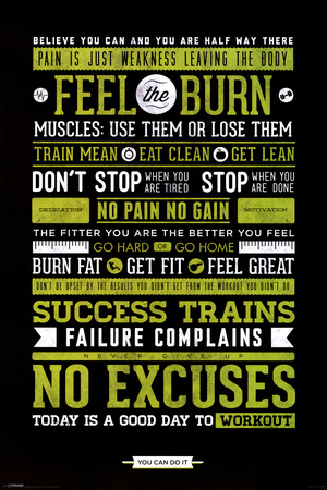 Gym - Motivational Prints