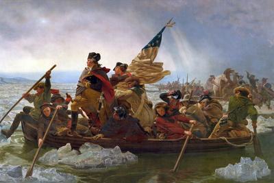 Crossing the Delaware Giclee Print by Emanuel Leutze