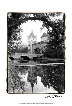 Castle Reflections, Vajdahunyad Prints by Laura Denardo