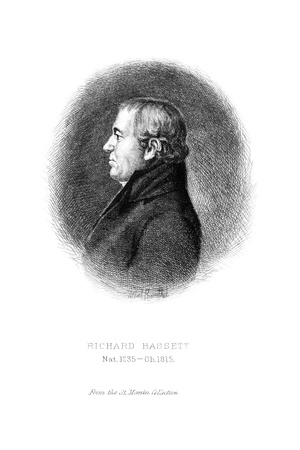 Richard Bassett (1745-1815) Giclee Print by Albert Rosenthal