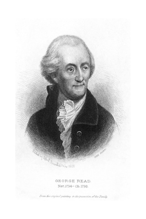 George Read (1733-1798) Giclee Print by Albert Rosenthal