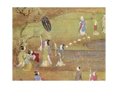 Buddha: Birth Premium Giclee Print