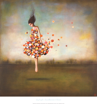 Infinitude em flor Impressão artística