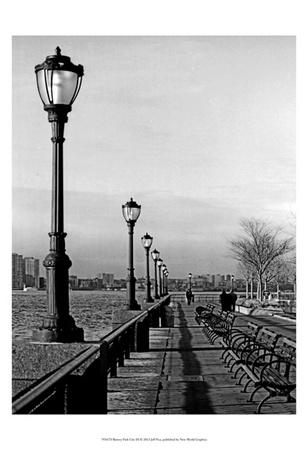 Battery Park City III Posters by Jeff Pica