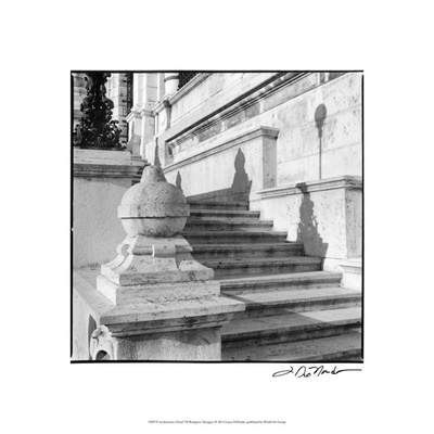 Architecture Detail VII Budapest Premium Giclee Print by Laura Denardo