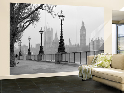 London Fog Wall Mural Wallpaper Mural