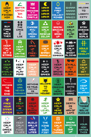 Keep Calm - Gaming Posters