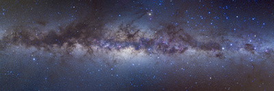 Panorama View of the Center of the Milky Way Fotografie-Druck