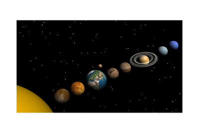 Planets of the Solar System Posters