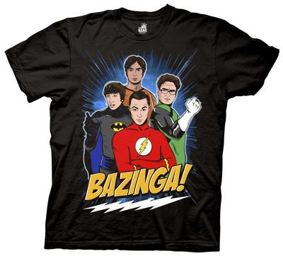 The Big Bang Theory - Super Group Guys T-Shirt
