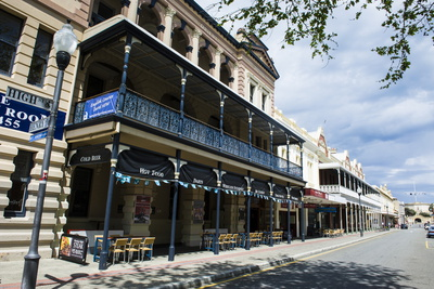 Colonial Buildings in Downtown Fremantle, Western Australia, Australia, Pacific Photographic Print by Michael Runkel