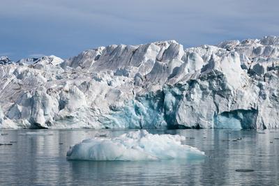 Lilliehook Glacier, Spitzbergen, Svalbard Islands, Norway, Scandinavia, Europe Photographic Print by Sergio Pitamitz