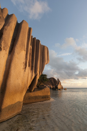 Anse Source D'Argent Beach, La Digue, Seychelles, Indian Ocean, Africa Photographic Print by Sergio Pitamitz