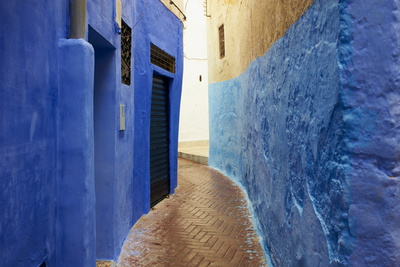 Narrow Street in the Medina (Old City), Tangier (Tanger), Morocco, North Africa, Africa Photographic Print by Bruno Morandi