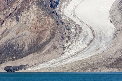 Glacier Detail in Icy Arm, Baffin Island, Nunavut, Canada, North America Photographic Print by Michael Nolan