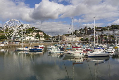 Harbour, Torquay, Devon. England, United Kingdom, Europe Photographic Print by Rolf Richardson