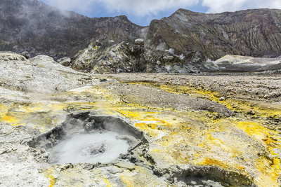 An Active Andesite Stratovolcano Photographic Print by Michael Nolan