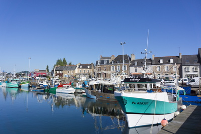 Paimpol Harbour, Cote De Goelo, Brittany, France, Europe Photographic Print by Peter Groenendijk