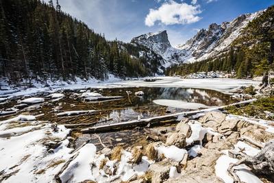 Bear Lake in Winter Photographic Print by Michael Nolan