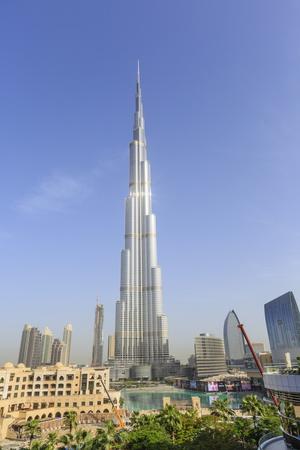 Burj Khalifa, Downtown, Dubai, United Arab Emirates, Middle East Photographic Print by Amanda Hall