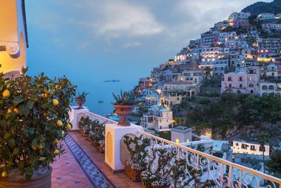 Positano, Amalfi Peninsula, UNESCO World Heritage Site, Campania, Italy, Mediterranean, Europe Photographic Print by Angelo Cavalli