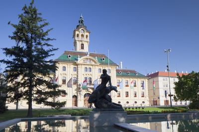 Town Hall, Szeged, Southern Plain, Hungary, Europe Photographic Print by Ian Trower