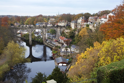 Viaduct over the River Nidd at Knaresborough Photographic Print by Mark Sunderland