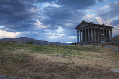 Garni Temple, Garni, Yerevan, Armenia, Central Asia, Asia Photographic Print by Jane Sweeney