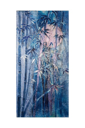 Moon and Bamboo Giclee Print by Margaret Coxall