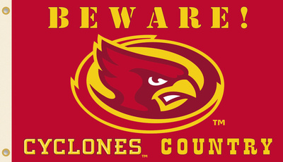 NCAA Iowa State Cyclones Country Flag with Grommets Flag