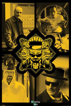 Breaking Bad - Quad plakat