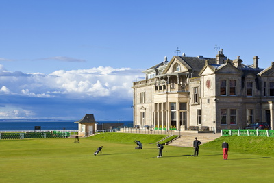 Golf Course and Club House Photographic Print by Neale Clark