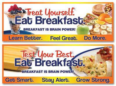 Breakfast is Brain Power Poster - 2 Posters